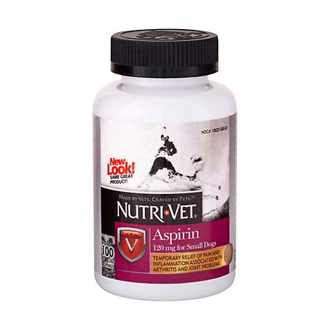 Nutri-Vet Nutritionals K-9 Aspirin for Small Dogs