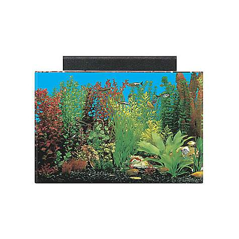 Seaclear rectangular 20 gallon aquarium combos in clear for Fish tank and stand combo