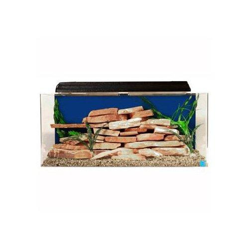 Seaclear rectangular 30 gallon show aquarium combos in for Sea clear fish tank