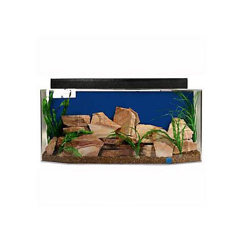 SeaClear System II 26 Gallon Aquarium Combos in Blue