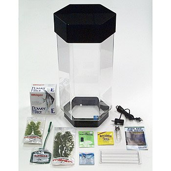 Seaclear mini kits in clear petco for Saltwater fish tank kit