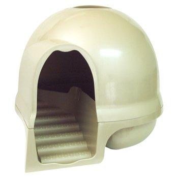 Booda Clean Step Litter Box in Titanium Petco
