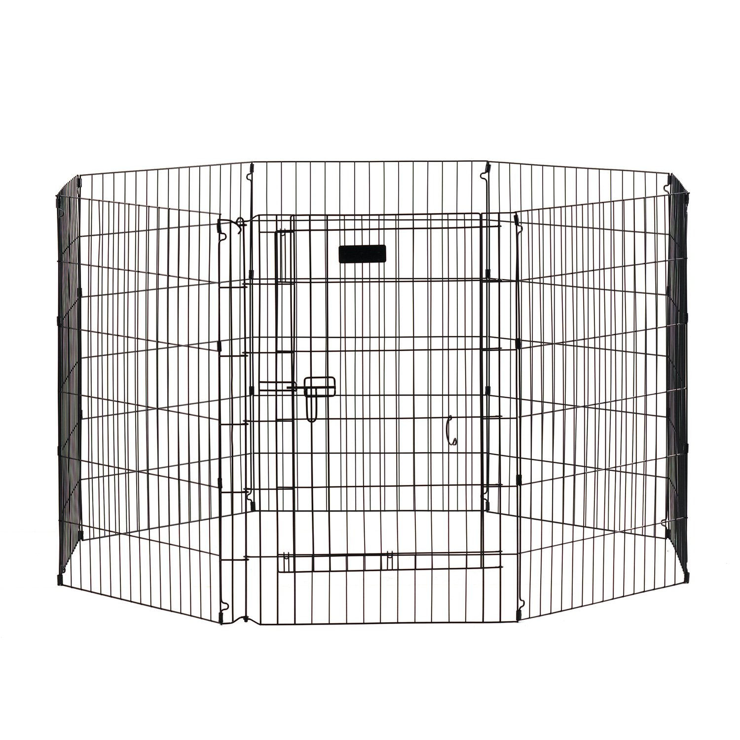 precision pet black ultimate exercise pens - Precision Pet Products