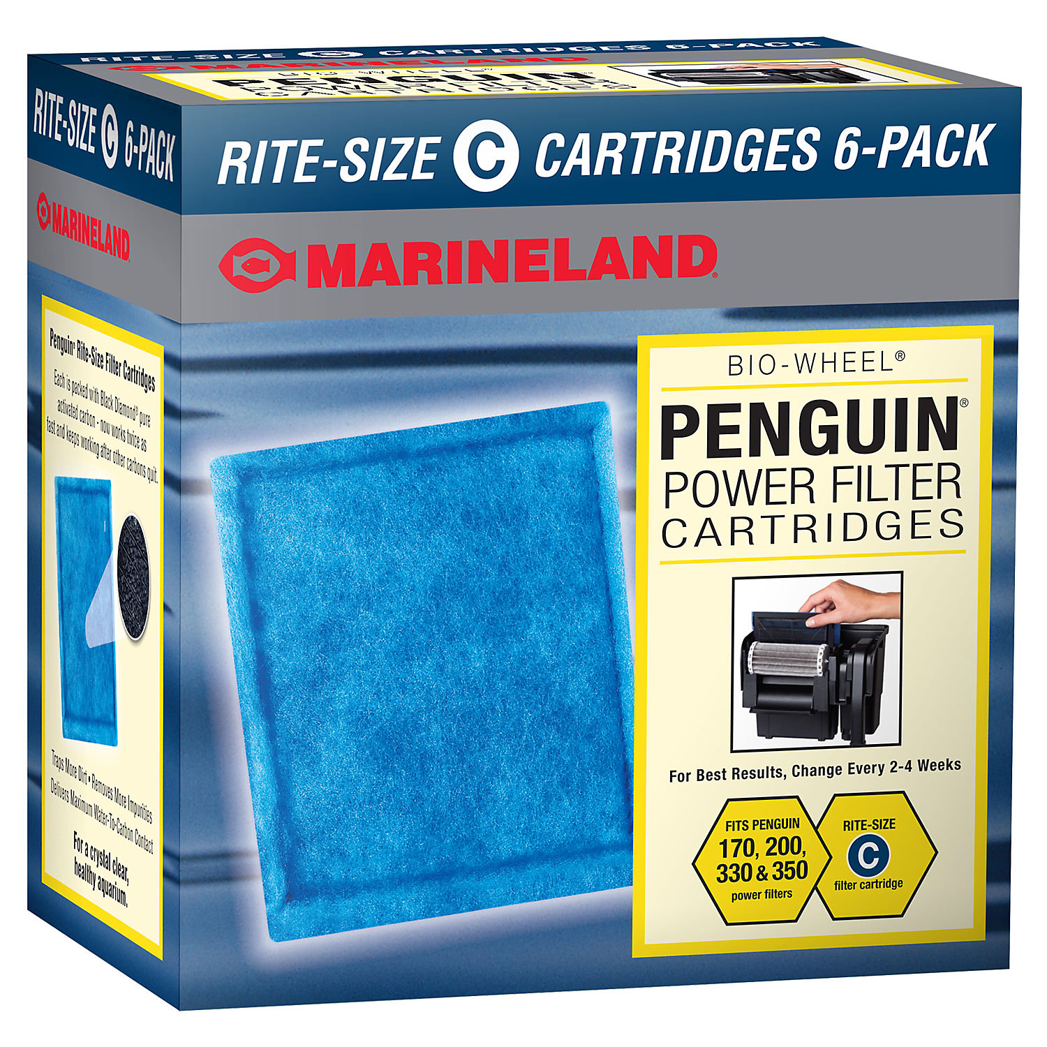 Marineland Penguin Rite Size Ready To Use Filter Cartridges