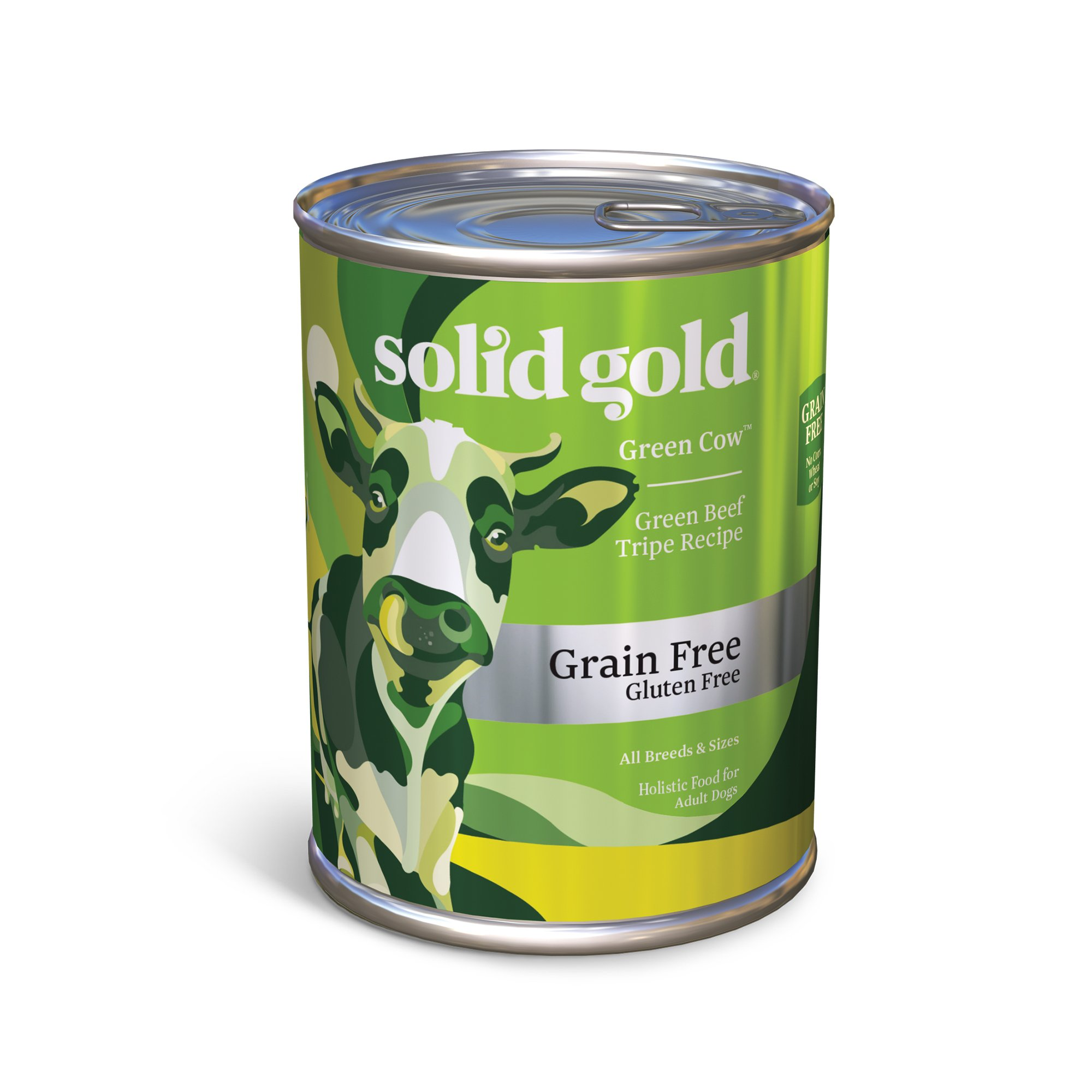 Solid gold green cow green beef tripe grain free adult for Solid gold fish
