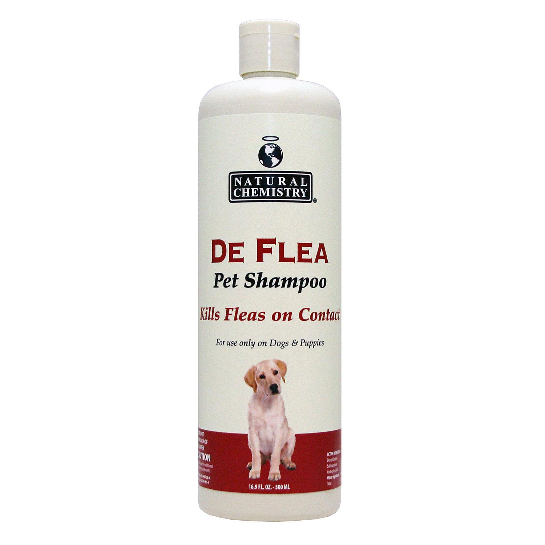 Image of Natural Chemistry De Flea Pet Shampoo