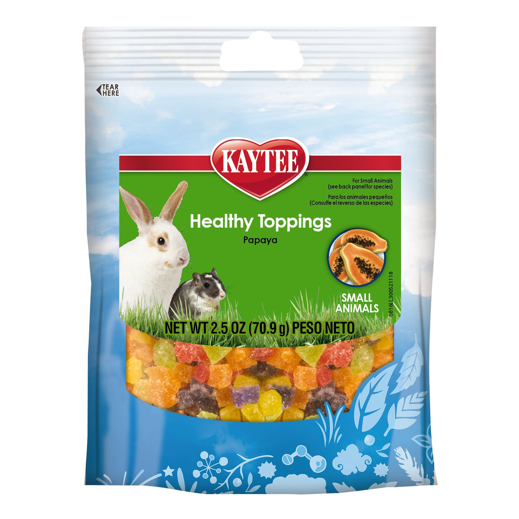 Kaytee Healthy Toppings For Small Animals Petco
