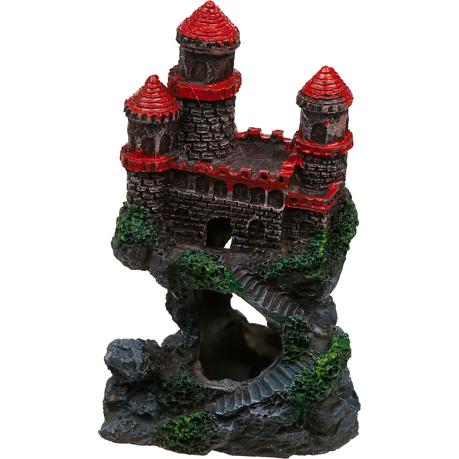 penn plax mini castle aquarium ornament | petco