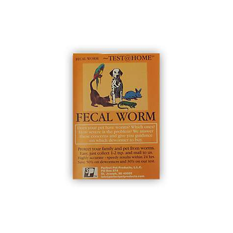 Perfect Pet Fecal Worm Test at Home