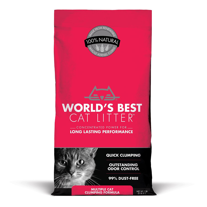 World's Best Cat Litter Multiple Cat Clumping Formula, 7 lbs.