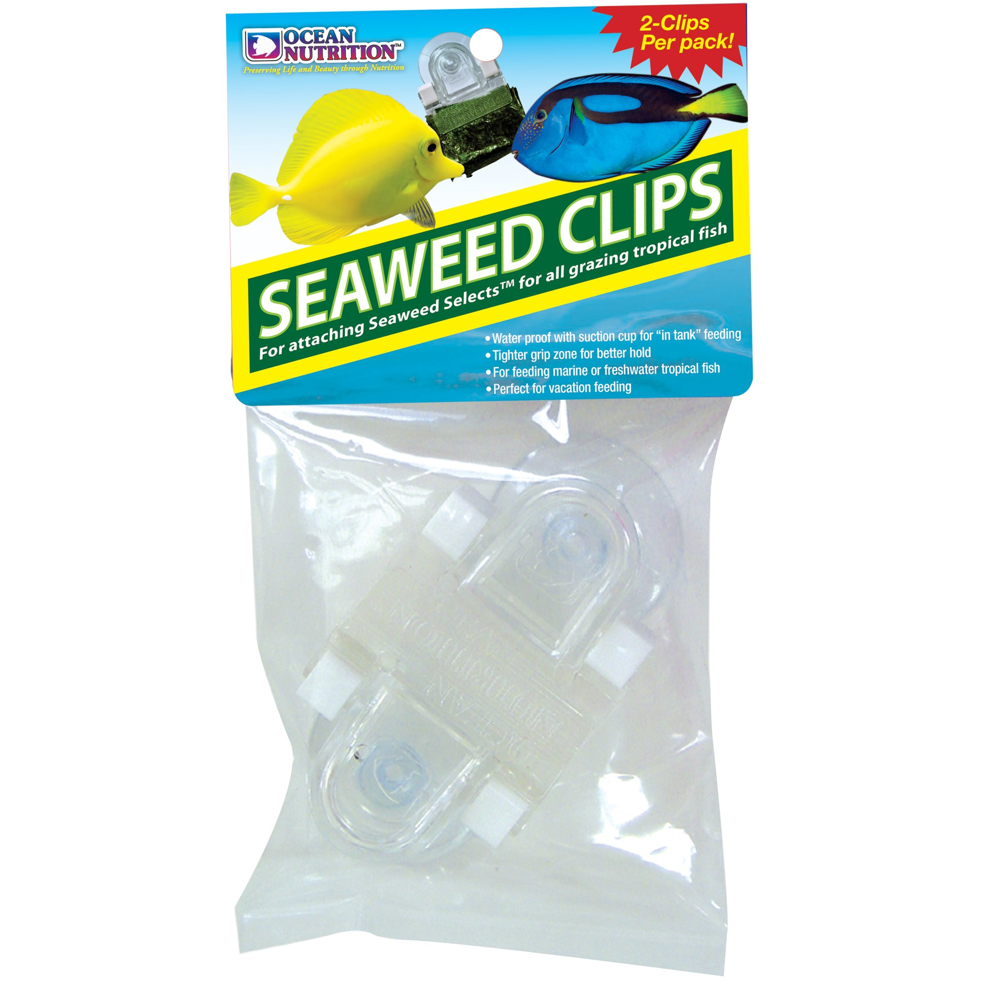 Ocean nutrition feeding frenzy seaweed clips petco for Feeder fish petco
