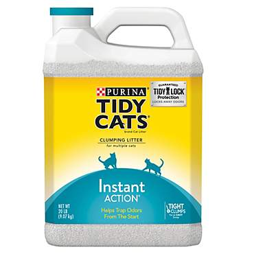 Purina Tidy Cats Instant Action Clumping Litter for Multiple Cats