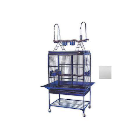 Avian Adventures Mediana Playtop Bird Cages in White