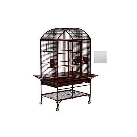Avian Adventures Mediana Dometop Bird Cages in White