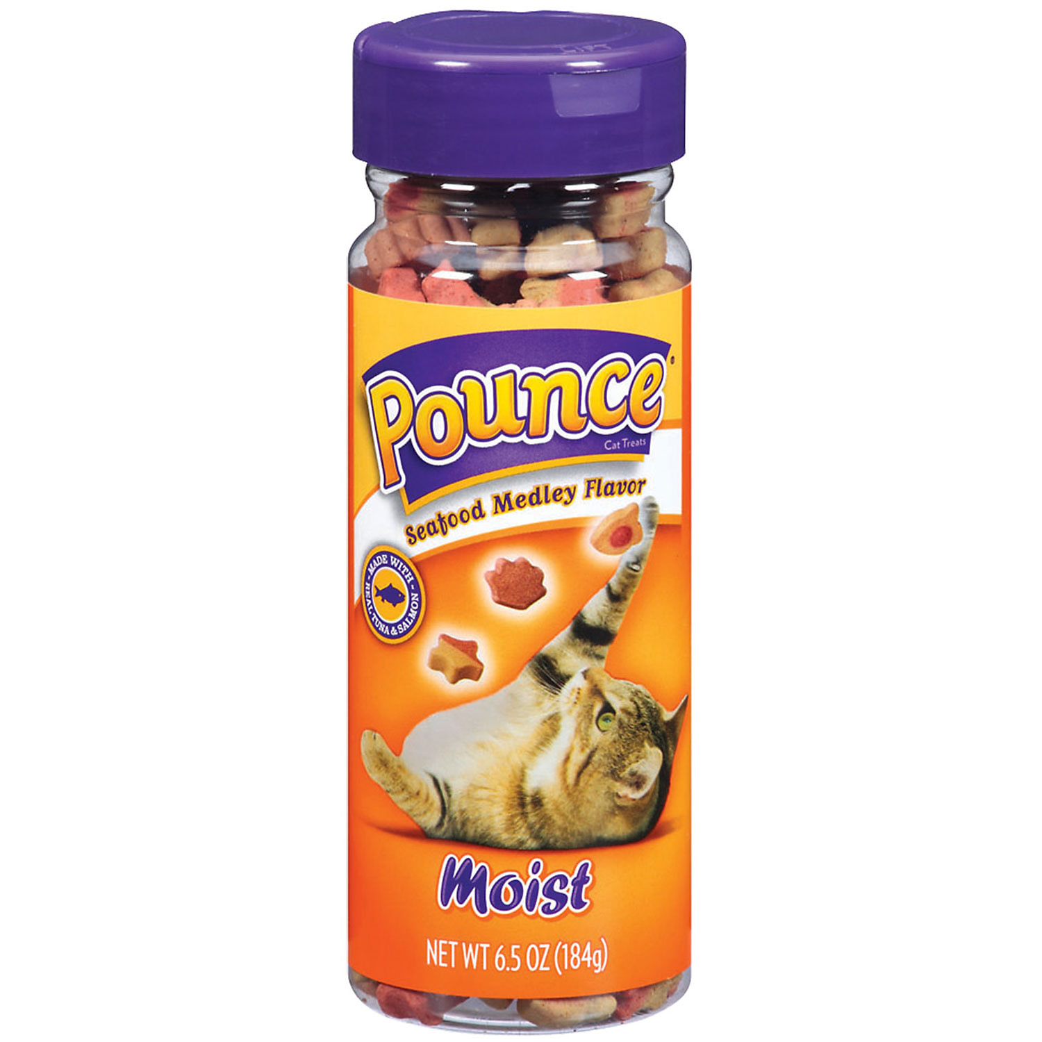 Pounce Seafood Medley Moist Cat Treats 6.5 Oz.