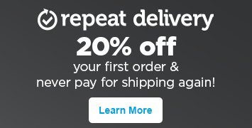 Schedule and save with Repeat Delivery