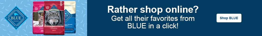 Rather shop online? Get all their favorites from BLUE in a click! - Shop BLUE
