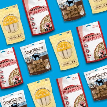 Buy 1, Get 1 50% off Select Dog Treats - Entire Stock Smartbones, Betterbelly, and Pure Bites - Must be same brand. Discounted item must be of equal or lesser value. - Shop Now