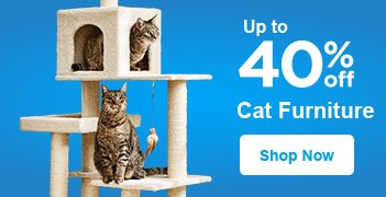 Up to 40% off Cat Furniture - Shop Now