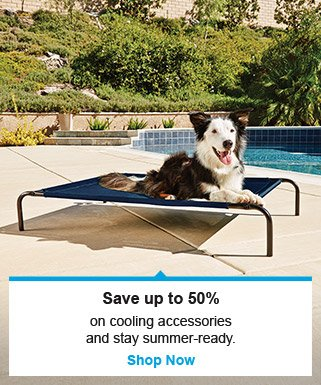 Save up to 50% on cooling accessories - Shop Now