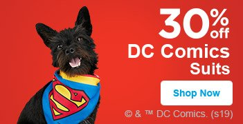 30% off DC Comics Apparel - Shop Now