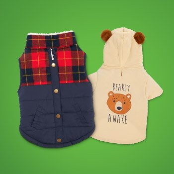 New Fall Apparel for Dogs and Cats - Shop Now