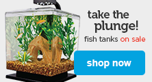 fish tanks on sale - shop now