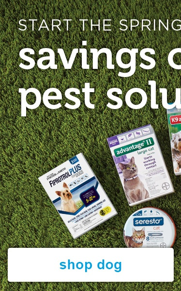 pest solutions for dogs - shop now