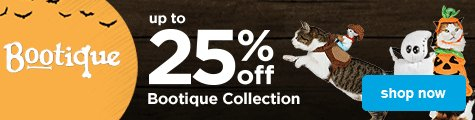 up to 25% off cat bootique - shop now