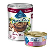 Blue Canned Dog and Cat Food