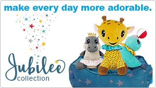 make every day more adorable with the Jubilee Collection - shop now