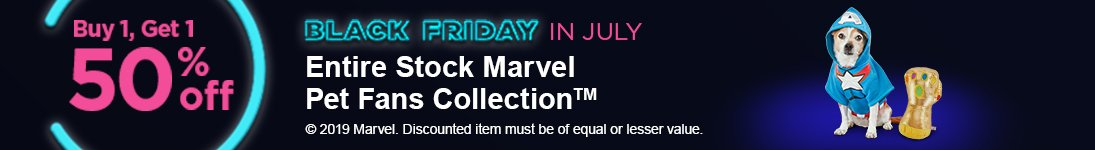 Marvel - BOGO 50% off - Shop Now