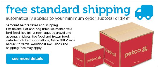 graphic relating to Petco Printable Coupon $10 Off $50 named Petco Coupon codes: Promo Coupon Codes Dog Food items Discount coupons Petco