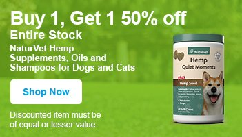 buy one, get one free naturevet hemp products - shop now