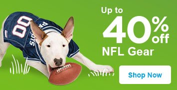 up to 40% off nfl gear