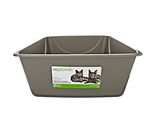 Open Litter Boxes