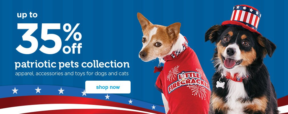New! Patriotic Pets Collection - shop now