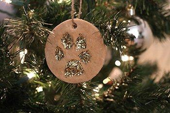 DIY Salt Dough Paw Print Ornaments for Cats & Dogs | Petco