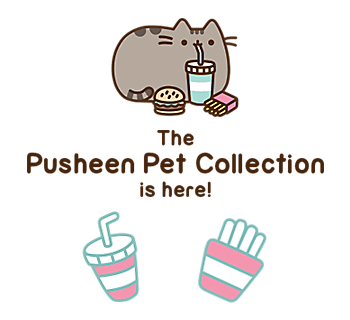 The Pusheen Pet Collection is here!