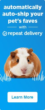 Automaticall auto-ship your pet's faves with repeat delivery - learn more