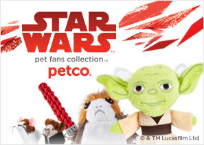 up to 50% off Star Wars pet fans collection