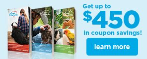 Petco Adoption Get up to $450 in Coupon Savings
