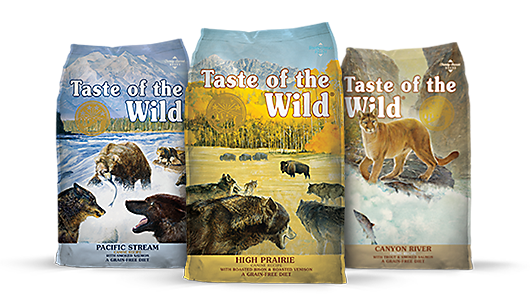 ... the Wild: exciting and unique roasted and smoked meats, fish and poultry in a premium, grain-free pet food that is based on your pet's ancestral diet.