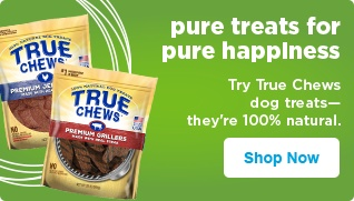 Try True Chew dog treats — they're 100% natural - shop now