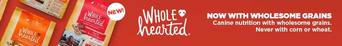 Wholehearted - Now with Wholesome Grains