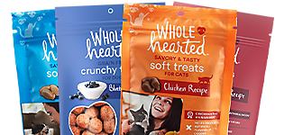 Wholehearted Dog & Cat Treats - Buy 1, Get 1 50%