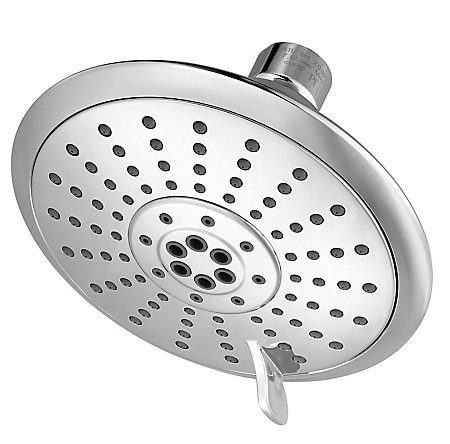 Polished Chrome Iyla Multi-function Showerhead - LG15-TR0C - 1