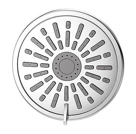 Polished Chrome Masey Showerhead - 015-WS2-MCCC - 2