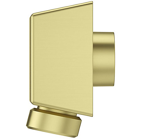 Brushed Gold Pfister Shower Drop Elbow - 016-17FBG - 4