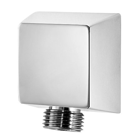 Polished Chrome Pfister Shower Drop Elbow - 016-17FC - 1